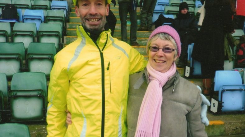 James Zarei and Pam Storey